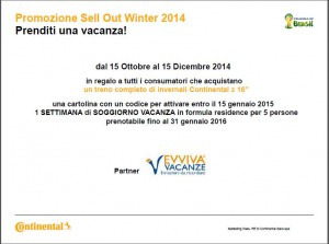 Promozione Sell Out Winter 2014